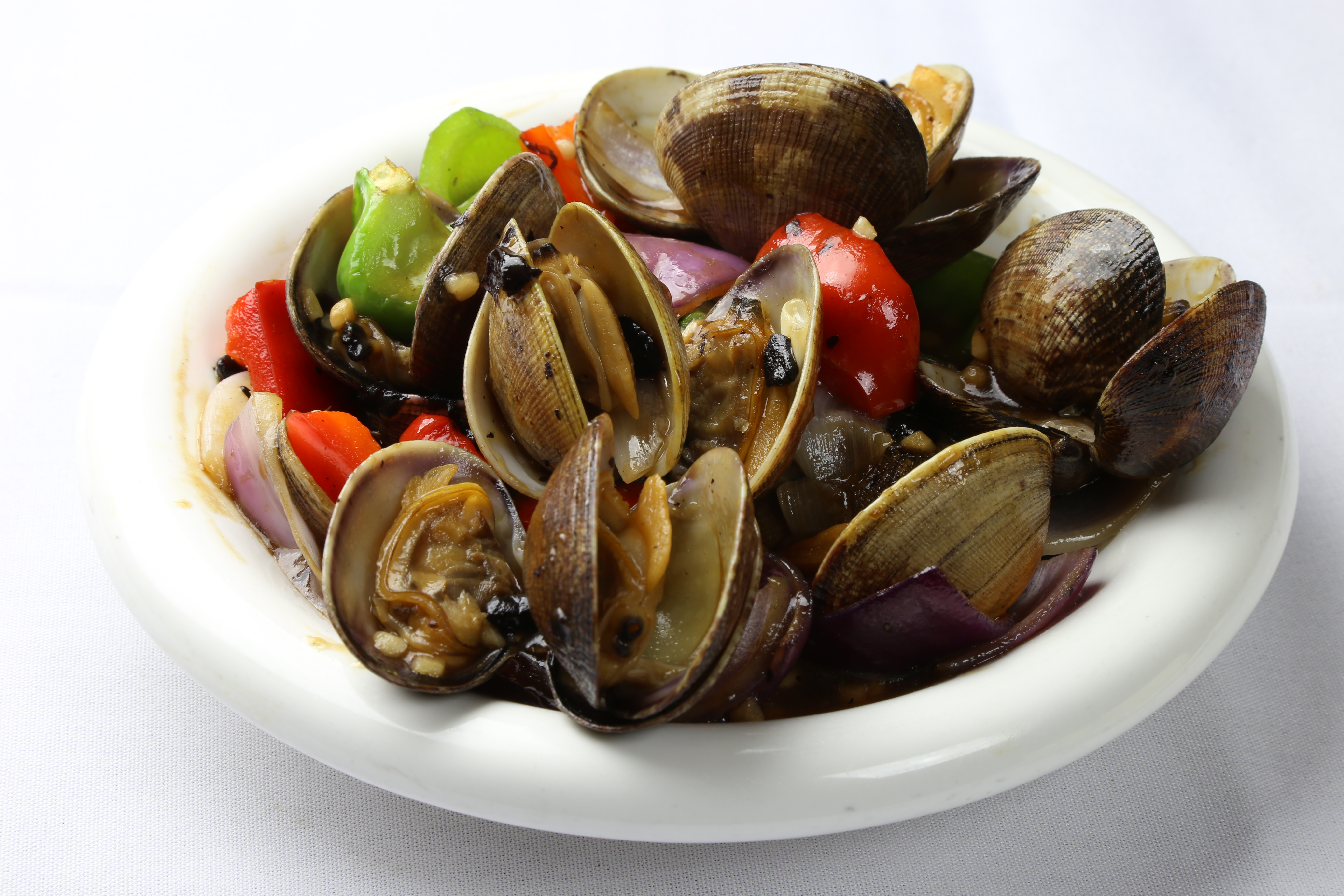 how to cook black bean clams