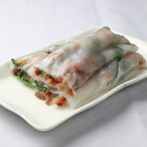 Steamed Rice Noodle Rolls